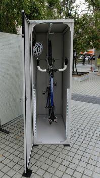 自転車ロッカー