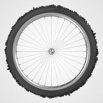 Ilustração Bike City, www.behance.net