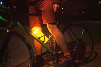Orb bike light & bottle