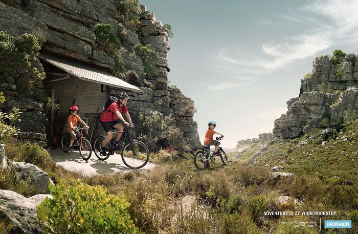 Decathlon: Operation Mountain Bike, adsoftheworld.com