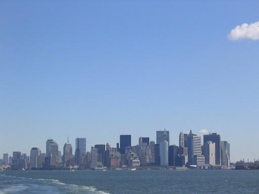 マンハッタン遠景