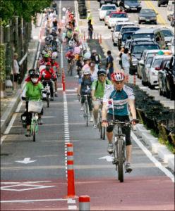 仁川自転車専用道路オンパレード