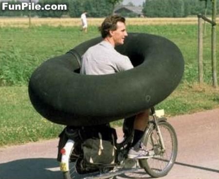 自転車エアバッグ