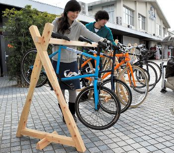 自転車旅行者用