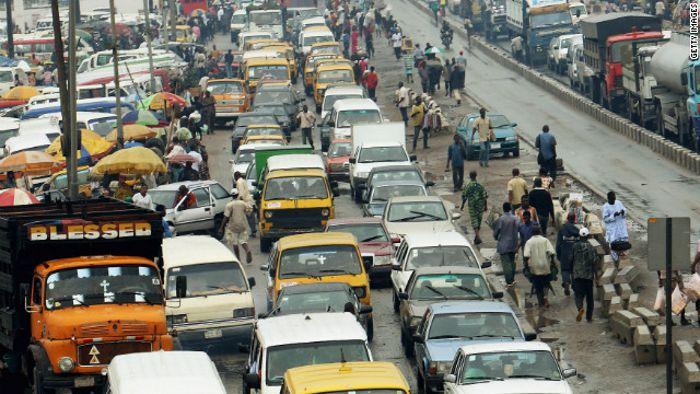 ナイジェリアの最大都市ラゴス