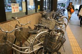 路駐自転車が倍増