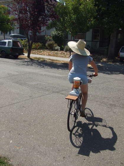 ミキサー自転車