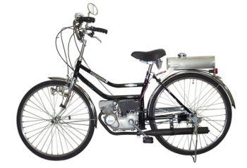 エンジン付き自転車