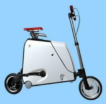 スーツケースバイク