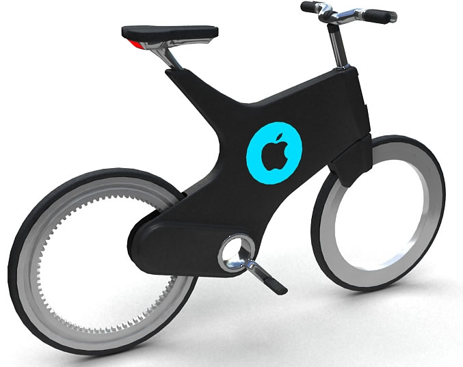 iBike, The Apple Bike Concept, www.designlaunches.com