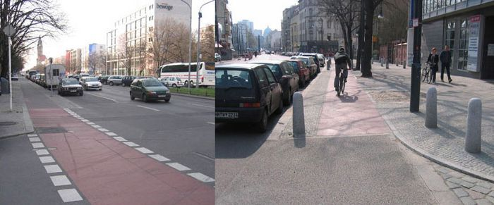 Bicycle lanes from cities around the world, bikelanes.ca
