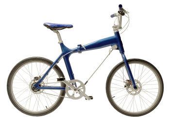 九谷焼の自転車
