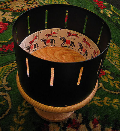 Zoetrope, Photo by Andrew Dunn,licensed under the Creative Commons Attribution ShareAlike 3.0 Unported.