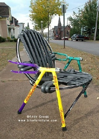 Bike Furniture Design
