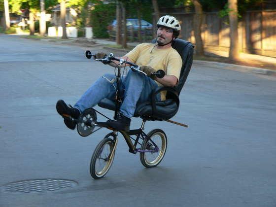 Office Chair Bike