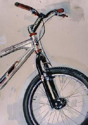 自転車のポートレート