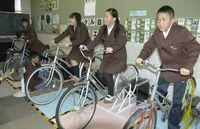 自転車型発電装置