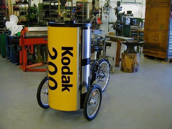 広告用自転車