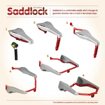 Saddlock - urban cycling without worry