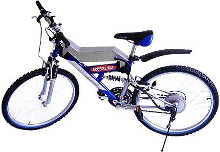 発電自転車