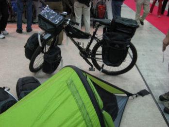 自転車でキャンプ旅行