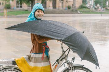 Fahrrad-Schirm