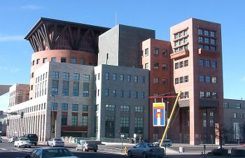 Denver Public Library, Photo by KM Newnham,licensed under the Creative Commons Attribution ShareAlike 3.0 Unported.