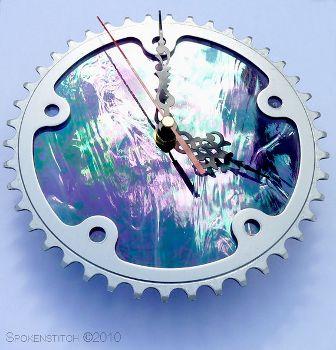 Chain Ring Bike Clock, www.etsy.com