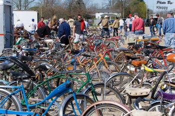 懐かしい自転車たち