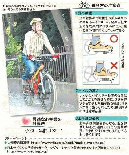 """""""自転車デビュー""""…体の負担軽いから 中高年こそ"""