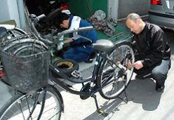 放置自転車対策も必要