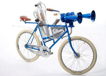 The Hornster, world's loudest bicycle with Airchime KH3A