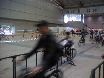 MTB用の試乗コース