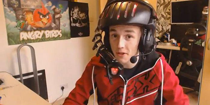 Ultimate Food Feeder Gaming Helmet