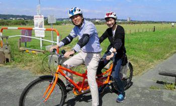 自転車の 4輪自転車 2人乗り : ... 自転車: 2人乗り: 4輪タンデム