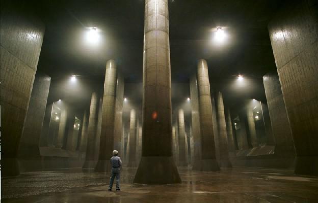 地底神殿?