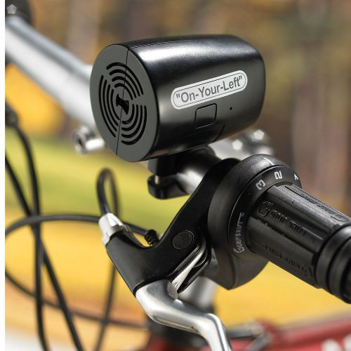 The Verbal Bicycle Bell, www.hammacher.com