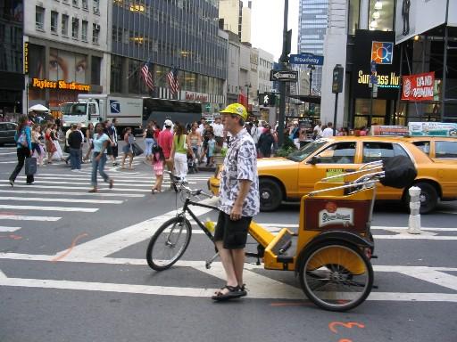 黄色いベロタクシー