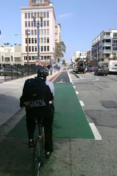 Another Wonderful Long Beach First: Protected Bike Lanes