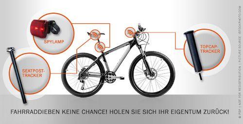 Spybike Produkte, fahrrad-diebstahl.com