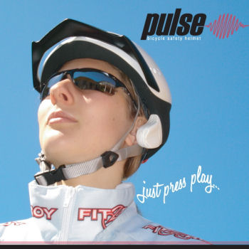 The Pulse Bicycle Safety Helmet