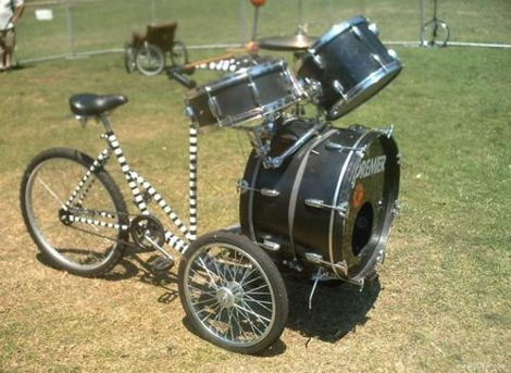 Drum Bike, www.break.com