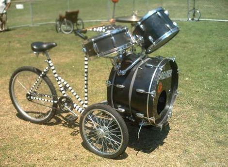 Drum Bike, www.break.com