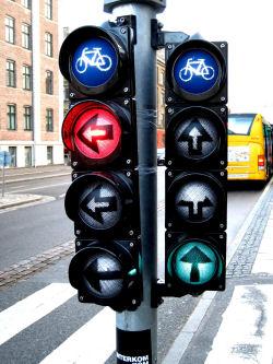 自転車専用信号