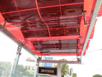 Solar Bus Shelters