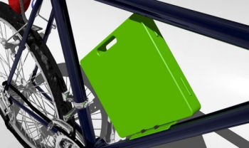 Bicycle Laptop carrier/case
