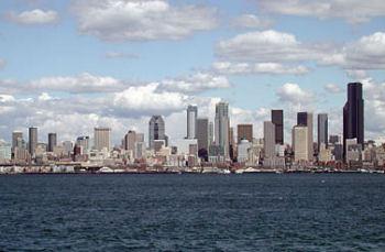 シアトルの街