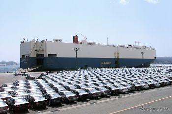 自動車輸出