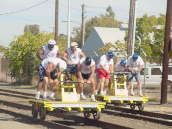 Handcar Racing