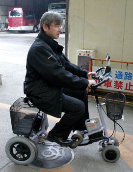 電動アシスト低速4輪自転車
